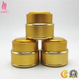 Color dorado Jarra de metal y cerámica para el envasado de uso