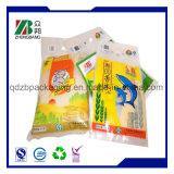 Accepter personnalisé sac de riz en matériau plastique laminé