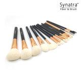 16PCSブラシの製造業者からの専門の構成のブラシセット環境に優しいSynatra Fibered