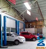 Freier Fußboden-Typ Zylinder-hydraulischer 2 Pfosten-Selbstauto-Aufzug