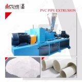 Extrusão plástica da maquinaria para a linha da tubulação do PVC