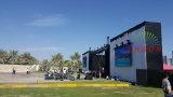 P5 bewegliche im Freien LED videowand für das Stadiums-Mietbekanntmachen