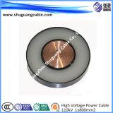 Cable de alimentación eléctrica de aislamiento XLPE