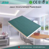 Cartón yeso de Jason Moistureshield /Decorative para el edificio Material-9.5mm