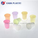 copo bebendo plástico da cor 5oz cor-de-rosa
