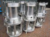 Aço inoxidável do tipo diafragma da válvula de drenagem de lamas de descarga rápida (JM644X)