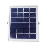 6V 5W panel solar 4000 mAh 80 Farol Solar LED con Sensor PIR