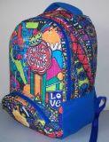 Multicolor Cartoon étudiant durable sac à dos Sac à dos à l'école