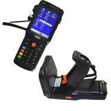 Programa de lectura Handheld largo de la frecuencia ultraelevada RFID de la distancia del rango Zk-RFID9150 con el explorador del código de barras de WiFi GPRS 3G 1d 2.o
