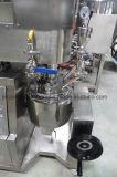Pequeño vacío de la homogeneización Emulsifiying homogeneizador mezclador para uso en laboratorio