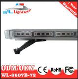 barras claras lineares DC12-24V do diodo emissor de luz do carro 72W de advertência
