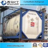 Gás Refrigerant R134A da pureza 99.8% usado no Refrigeration