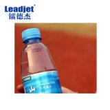 Impresora de inyección de tinta automática de la botella de la fecha de vencimiento de Cij de la boquilla de la limpieza