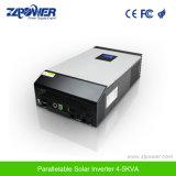 4kVA 5kVA de Zuivere Omschakelaar Parallelable van de Lader van de Golf van de Sinus Hybride van de ZonneMacht Inversor van het Net