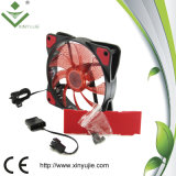 Ventilateur de boîtier à faible bruit d'ordinateur de couleur rouge de Xjc12025 120mm