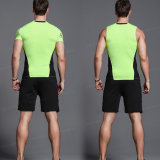 人のスパンデックスは適性のためのスーツSportwearを遊ばす