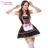L'Halloween Costume de fantaisie robe marron Oktoberfest taverne Maid L1204