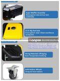 générateur portatif de 5kw 5kVA fait pour le marché de Moyen-Orient EAU
