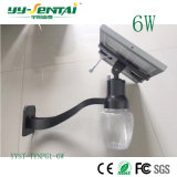 6W imprägniern Straßen-Garten-Licht der Bewegungs-IP65 des Fühler-im Freien Solar-LED