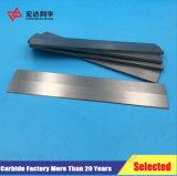 Tiras de carboneto de tungsténio para ferramentas de corte de madeira