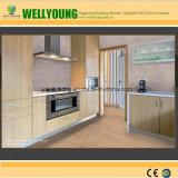 Küche-Fußboden-Wand deckt Vinylfliesen mit Ziegeln