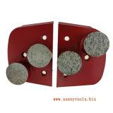 구체적인 분쇄기를 위한 Lavina 세그먼트 금속 유대 다이아몬드 가는 닦는 패드
