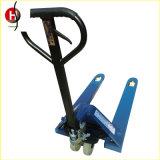 Industrieller Handgabelstapler-manueller Ladeplatten-Aufzug-LKW 3 Tonne