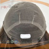 Peluca larga superior de seda vendedora caliente del pelo ondulado del 100% (PPG-l-0112)