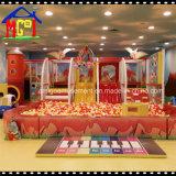 Installation réglée d'amusement de cour de jeu d'intérieur de jouet d'enfants pour le divertissement de gosses