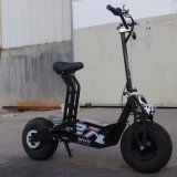 Off-road Electric Motorcycle 1600W Fat 48V 12Ah de pneus pour le ski de fond