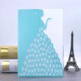 Ahuecado de mejor calidad de impresión de tarjetas de invitación Tarjetas de felicitación