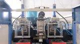 Máquina de molde pequena do sopro do frasco do HDPE com estação dobro