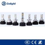 Lámpara auto brillante estupenda universal de la linterna del coche de los pares 3000K/6500K 6000lm de Cnlight M1 M1 H4 H7 9005 LED