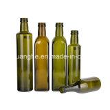 Obscuridade da alta qualidade 250ml 500ml 750ml - frasco de petróleo da azeitona do vidro verde com tampões