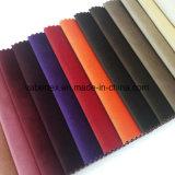 Tela tejida materia textil del terciopelo del sofá de la cortina de ventana de la tapicería del poliester