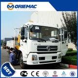 Guindaste montado caminhão de 6 toneladas com crescimento de 3 seções