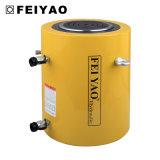 Grande cilindro hidráulico horizontal Jack Fy-Clrg da tonelada elevada ativa dobro