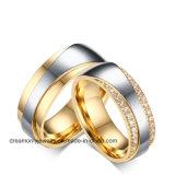 Anel de Casamento de Aço da Alta Qualidade