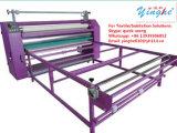 La alta calidad y tipo de aceite de la velocidad del rodillo de rollo a rollo de prensa de calor el calor del plato Pulse para sublimación textil
