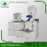 水処理のための装置に投薬する効率的な自動凝集剤