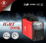 Machine de soudure de l'inverseur IGBT/MMA avec du ce (IGBT-120K/140K/160K/180K/200K/250K)