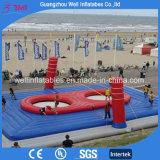 Corte di pallavolo gonfiabile della spiaggia di divertimento di Bossball dei giochi gonfiabili umani di sport con il trampolino