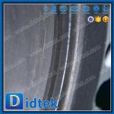 Tipo valvola a farfalla dell'aletta dell'acciaio inossidabile di temperatura insufficiente di Didtek