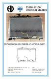 Auto forjadas de alumínio de alta qualidade para o radiador a Hyundai Matrix Oe: 25310-17100