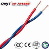 Rvs Torcida o cabo elétrico 2 núcleos fio flexível