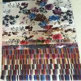 Terciopelo impreso aduana de la tela de tapicería de los muebles de Digitaces de la fábrica