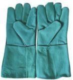 Перчатки заварки сделанные из наградной кожи с сохранённым природным лицом Cowhide