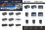 4 RJ45 + 2 portas SFP para fibra óptica Gagibit Switch Ethernet com Chip Marcell