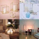 За Круглым столом-слезники Terrarium рептилий ваза&&& подставки оптовой воздуха металлические интерьер свеча держатель