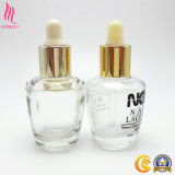 Botella de petróleo esencial de cristal cosmética de múltiples funciones